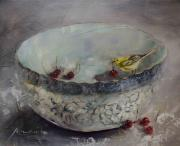 CON: Yellow bird on Porcelain