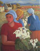 CON : Ladies with Arum lilies