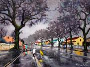 RMM 37: Wet Winter Street Scene